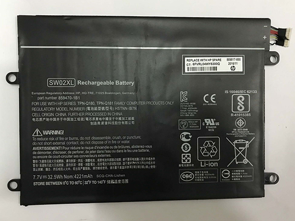Batería HP HSTNN-IB7N