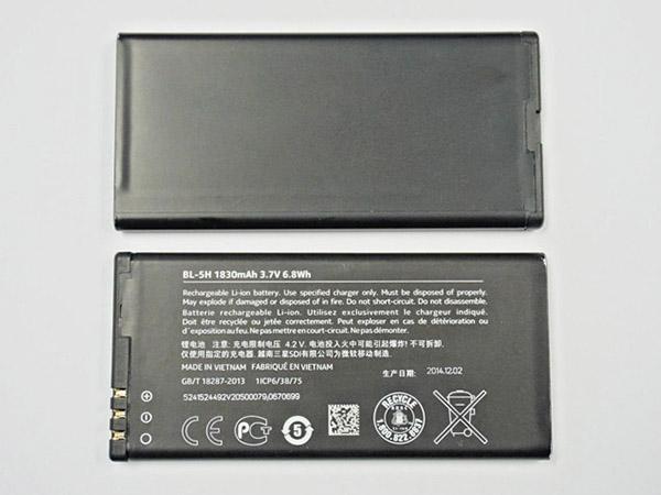 f4adc1127b8 Batería para nokia BP-3L Batería teléfono móvil para Nokia Lumia 710 ...
